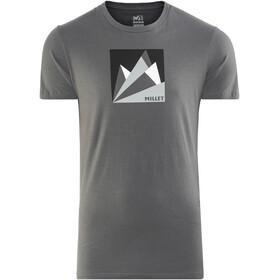 Millet Fan Mountain Kortærmet T-shirt Herrer grå
